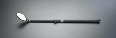 エスコ(ESCO) 125x170mm/0.9-2.5m 点検ミラー(伸縮型) EA724BA-12