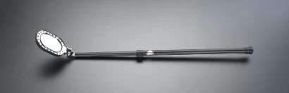 エスコ(ESCO) 75x110mm/0.6-1.0m 点検ミラー(LEDライト付) EA724BB-1