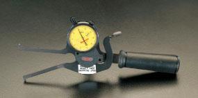 エスコ(ESCO) 25-75mm ダイアルキャリパーゲージ(インサイド) EA725AH-1