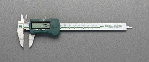 エスコ(ESCO) 150mm デジタルノギス(ブレード型) EA725CT-150