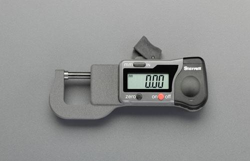 エスコ(ESCO) 0-12.5mm デジタルマイクロメーター EA725EF-20