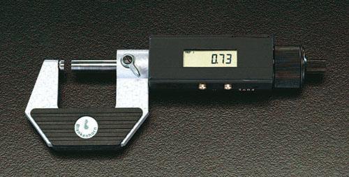 エスコ(ESCO) 100-125mm デジタルマイクロメーター EA725EF-5