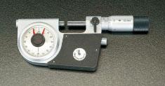 エスコ(ESCO) 0-25mm 指示マイクロメーター EA725EL-1