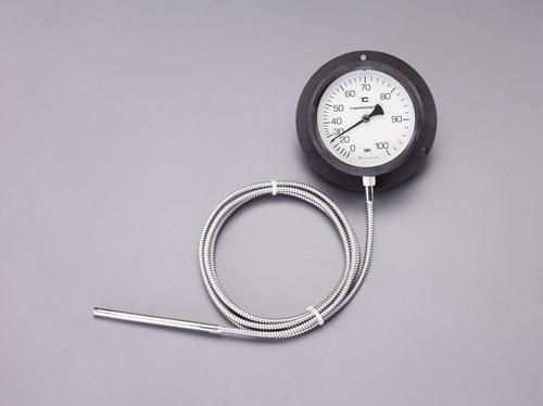 エスコ(ESCO) 0-120℃/φ110mm 隔測温度計 EA727-23