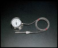 0-200゜C/φ110mm エスコ(ESCO) EA727-5 隔測温度計