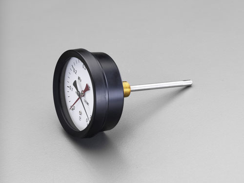 エスコ(ESCO) 0-120℃/0-0.6MPa/φ162mm 水高計(横型) EA729PA-8