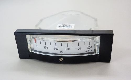 エスコ(ESCO) 0-500Pa 微差圧計(横目盛形) EA729SB-50A