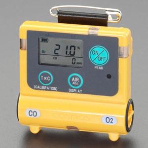 エスコ(ESCO) 酸素・一酸化炭素濃度計 EA733AH-10