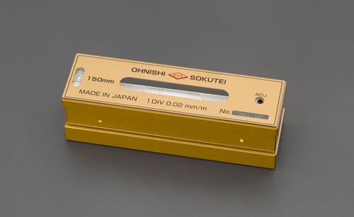 エスコ(ESCO) 200mm(0.02mm/m) 精密レベル EA735MP-20
