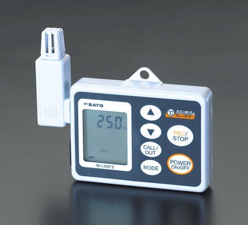 エスコ(ESCO) 温度データロガー EA742GB-3