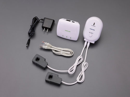 エスコ(ESCO) クランプ式無線電力計 EA742GB-31A