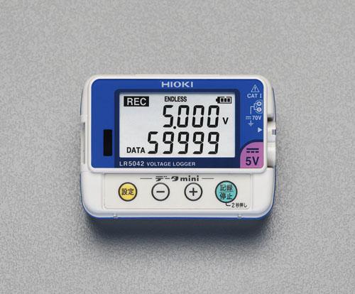 エスコ(ESCO) 電圧データロガー EA742HD-2