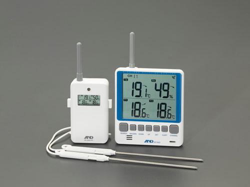 エスコ(ESCO) [リモコンセンサー付] 最高最低温湿度計 EA742MG-7A