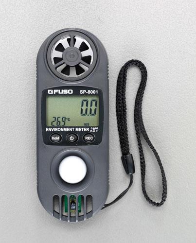 エスコ(ESCO) [10機能]ミニマルチ環境計測器 EA743FB-1