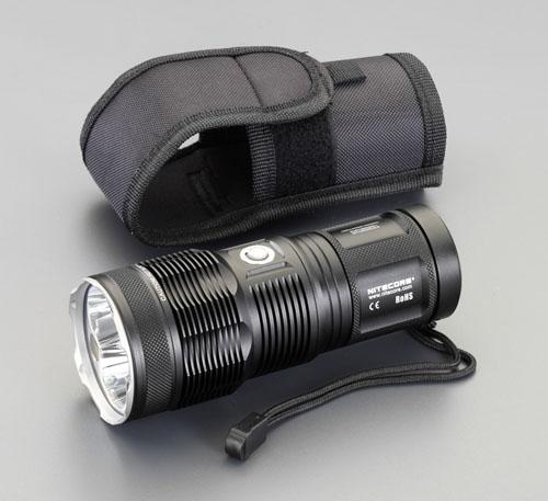 エスコ(ESCO) [CR123Ax8本] フラッシュライト/LED EA758J-15