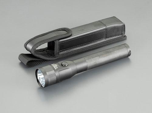 エスコ(ESCO) [充電式] フラッシュライト/LED(黒/ホルスター付) EA758SD-115