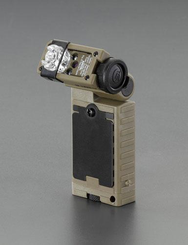 エスコ(ESCO) [単3x2本] レスキューシグナルライト/LED(白・青・赤・緑) EA758SE-25