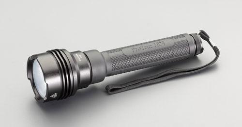 エスコ(ESCO) [CR123Ax4本] フラッシュライト/LED(防水・超強力) EA758SG-38