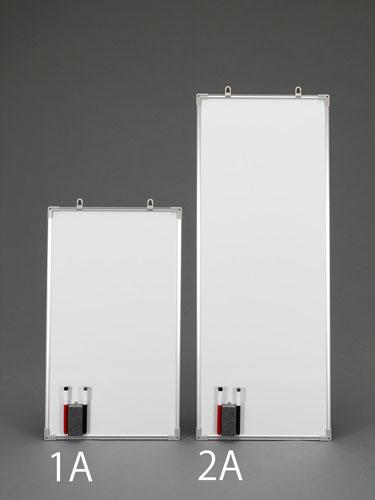 エスコ(ESCO) 600x350mm ホワイトボード(2枚) EA761LC-1A