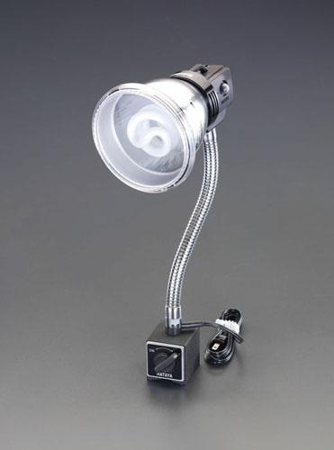 エスコ(ESCO) AC100V/18W/E26 照明灯/蛍光灯(マグネット付) EA761XH-1