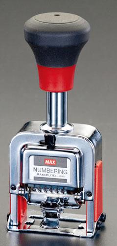エスコ(ESCO) 10桁7様式 ナンバーリング EA762AF-55
