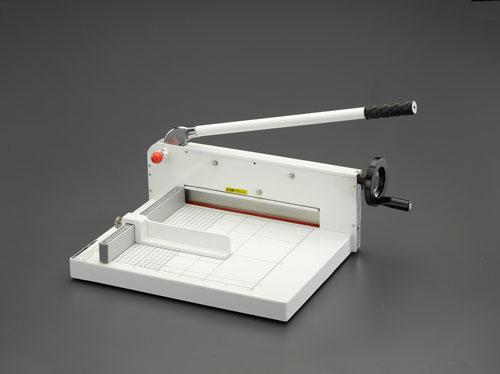 エスコ(ESCO) 360x480mm(310mm幅/400枚)裁断機 EA762EB-61