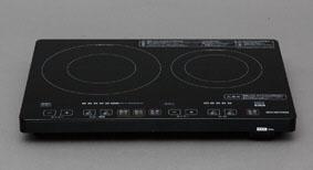エスコ(ESCO) AC100V/1400W 560x400x60mm IH調理器 EA763AK-38A