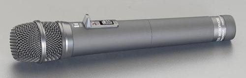 エスコ(ESCO) 充電式マイク(EA763CF-11用) EA763CF-11B