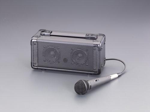 エスコ(ESCO) マイク付拡声器スピーカー EA763CJ-1