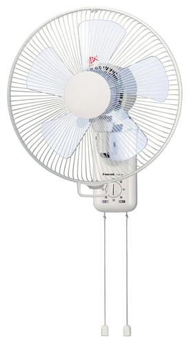 エスコ(ESCO) AC100V/45W/30cm 扇風機(壁掛式/首振り) EA763F-22