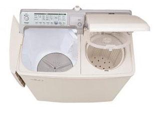 エスコ(ESCO) 6.5/800(W)x434x882mm 2槽式洗濯機 EA763Y-13