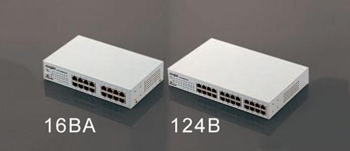 エスコ(ESCO) 280x180x44mm [24ポート]スイッチングハブ EA764BY-124B