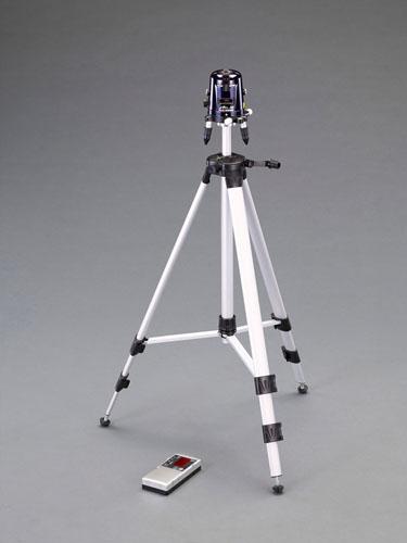 エスコ(ESCO) レーザー墨出し器(三脚・受光器セット) EA780K-2SA