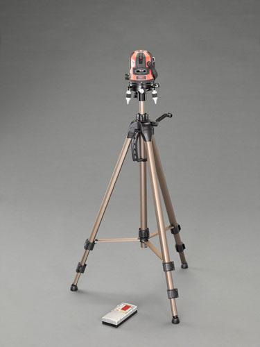 エスコ(ESCO) レーザー墨出し器(三脚・受光器付) EA780MA-2