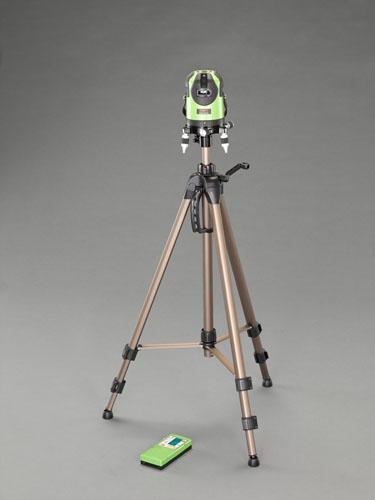 エスコ(ESCO) レーザー墨出し器(グリーンレーザー・三脚・受光器付) EA780MB-22
