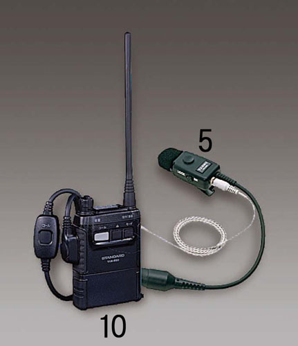エスコ(ESCO) 同時片方通話両用トランシーバー EA790MR-10