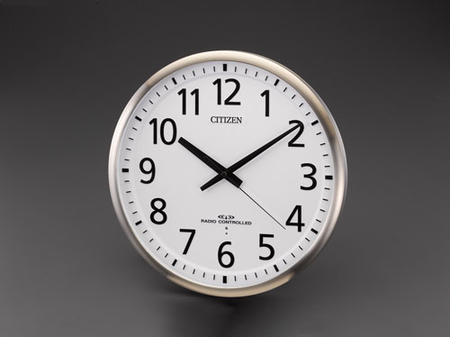 エスコ(ESCO) φ450mm [電波]掛時計 EA798CB-93