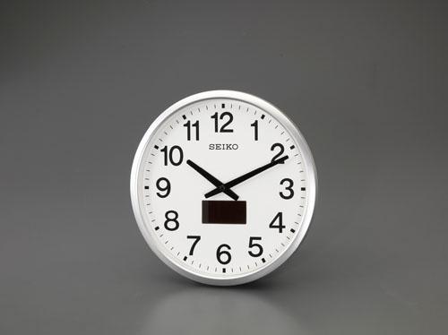 エスコ(ESCO) φ325mm [電波]掛時計 EA798CC-14A