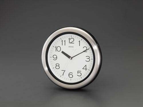エスコ(ESCO) φ281mm [防湿・防塵]掛時計 EA798CC-70A