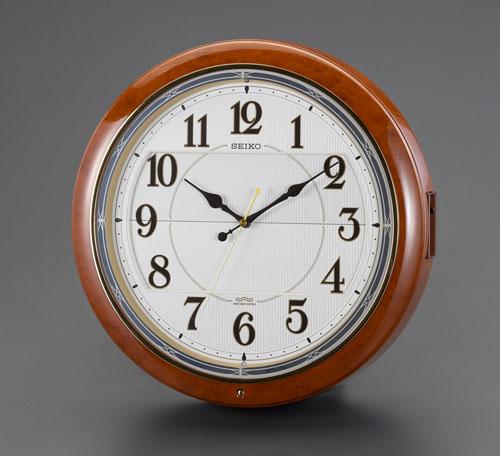 エスコ(ESCO) φ390mm [電波]からくり掛時計 EA798CC-85