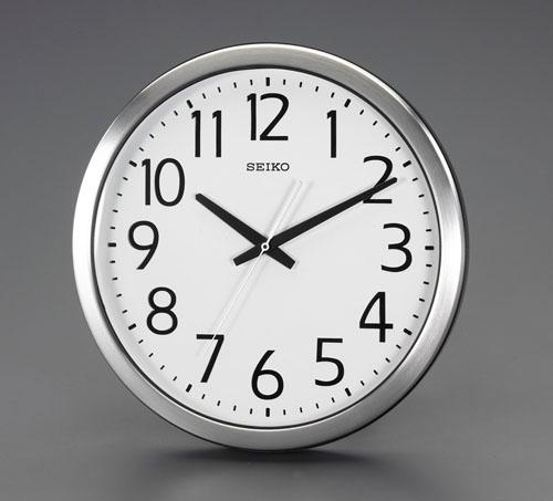 エスコ(ESCO) φ381mm [防湿・防塵]掛時計 EA798CC-92