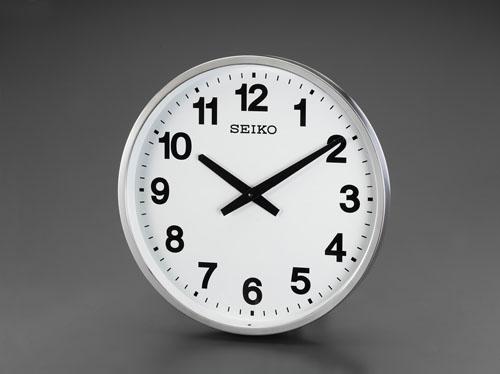 エスコ(ESCO) φ450mm [防雨]屋外用掛時計 EA798CC-95