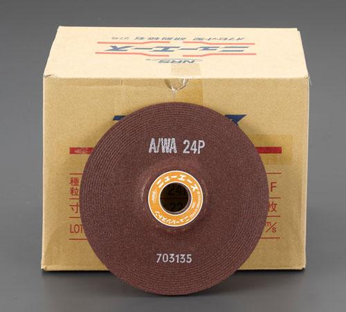 エスコ(ESCO) 150x6mm/A/WA24P オフセット型砥石(25枚) EA809YD-224