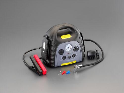 エスコ(ESCO) AC100V→DC12V/12A ポータブル電源 EA812HB-4