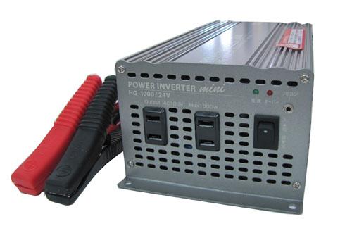 エスコ(ESCO) DC24V→AC100V/800W DC-ACインバーター EA812JA-14A