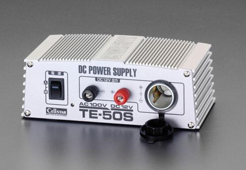 エスコ(ESCO) AC100V→DC12V/80VA ホーム電源 EA812JG-1