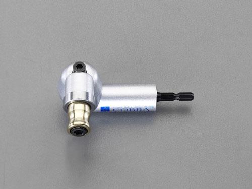 エスコ(ESCO) 電動ドライバー用 アングルヘッド (ヘッド部回転式) EA813A-14