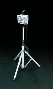 エスコ(ESCO) AC100V/500W 作業灯/ハロゲン球(コード5.0m) EA814DG-5