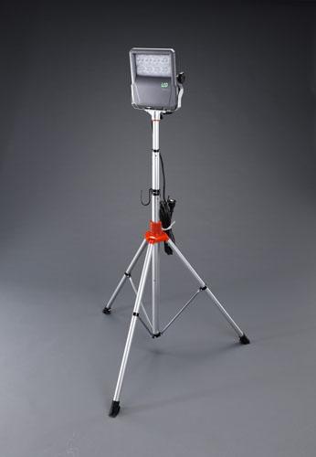 エスコ(ESCO) AC100V/60W 作業灯/LED(コード5m/スタンド付) EA814EL-1