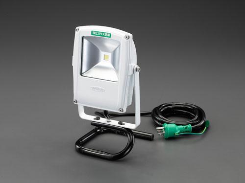 エスコ(ESCO) AC100V/10W 作業灯/LED(スタンド付) EA814NA-1